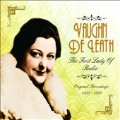 Vaughn DeLeath (Singer): Vaughn De Leath: Original Recordings 1925-1929