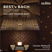 Best's Bach: Selected Organ Works and Chaconne, arr. by William Thomas Best, organ