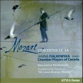 Mozart: Concertos Nos. 13 & 14 / Janina Fiakowska, piano