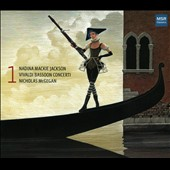 Vivaldi Bassoon Concerto nos 2, 6, 12, 14, 23, 25, 26, 27 / Nadina Jackson, bassoon; Nicholas McGegan, keyboards