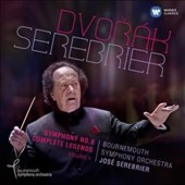 Dvorak: Symphony No. 8; Complete Legends, Vol. V. / José Serebrier, Bournemouth SO