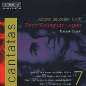 Bach: Cantatas Vol 7 / Suzuki, Bach Collegium Japan