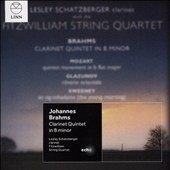 Brahms: Clarinet Quintet in B minor / Lesley Schatzberger, clarinet; Fitzwilliam String Quartet