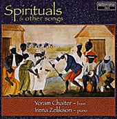 Spirituals & Other Songs: Works of Schubert, A. Rubinstein, Tchaikovsky, Traditional et al. / Yoram Chaiter, bass; Irena Zelikson, piano