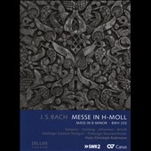 J.S. Bach: Mass in B Minor / Sampson, Vondung, Johannsen, Berndt. Freiburger Barockorchester; Gaechinger Kantorei Stuttgart [2 CDs +DVD Video]