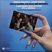 André Previn (b.1929): 'A Different Kind of Blues;'  'It's a Breeze' - Original Jazz Suites / Itzhak Perlman, violin; André Previn, piano; Jim Hall, guitar; Red Mitchell, bass; Shelly Manne, drums