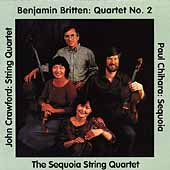 Crawford, Britten, Chihara: Quartets / Sequoia Quartet