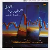 Duett Konzertant- Music for 2 Guitars