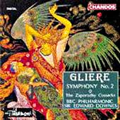 Gli&egrave;re: Symphony no 2, etc / Downes, BBC Philharmonic