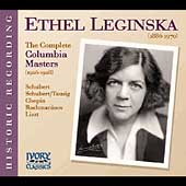 Ethel Leginska - The Complete Columbia Masters (1928-29)