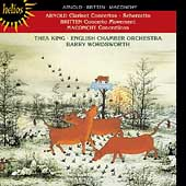 Arnold, Britten, Maconchy: Clarinet Concertos / Thea King