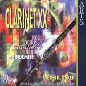 Clarinet XX - Debussy, Berio, et al / Kl&#246;cker, Arnold
