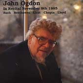 John Ogdon n Recital - Bach, Beethoven, Liszt, Chopin, et al