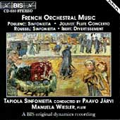 French Orchestral Music / Wiesler, Järvi, Tapiola Sinf
