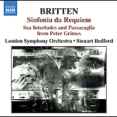Britten: Sinfonia da Requiem, etc / Bedford, London SO