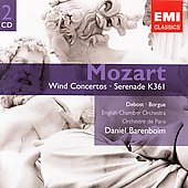 Gemini - Mozart: Wind Concertos / Barenboim