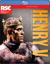 William Shakespeare: Henry V / Live from Stratford-Upon-Avon, Royal Shakespeare Company [Blu-ray]