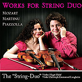 Martinu, Mozart, Piazzolla: Works for String Duo