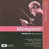 Klemperer conducts Beethoven - Missa solemnis