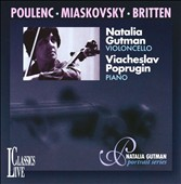 Poulenc, Miaskovsky, Britten: Works for Cello & Piano