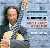 Paganini: Complete Ghiribizzi, for Solo Guitar