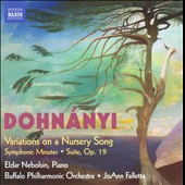 Dohnanyi: Variations On Nursery Song; Symphonic Minutes