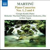 Martinu: Piano Concertos Nos. 1, 2 & 4