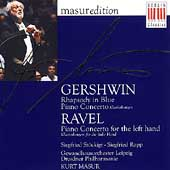 Masur Edition - Gershwin: Rhapsody in Blue, etc;  Ravel