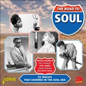 Various Artists: The Road To Soul: 55 Tracks That Ushered In the Soul Era