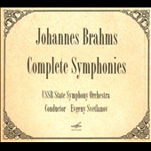 Johannes Brahms: Complete Symphonies / USSR SO, Svetlanov