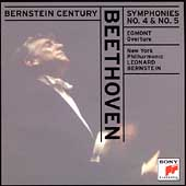 Bernstein Century - Beethoven: Symphonies no 4 & 5, etc