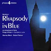 Phase 4 Stereo - Gershwin: Rhapsody in Blue, etc / Black