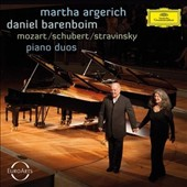 Mozart: Sonata for 2 Pianos, K.448; Schubert: Variations D.813; Stravinsky: The Rite of Spring / Martha Argerich, Daniel Barenboim, pianos