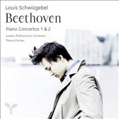 Beethoven: Piano Concertos Nos. 1 & 2 / Louis Schwizgebel, piano; London PO, Fischer