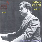 Dino Ciani, Vol. 2: Works by Chopin, Beethoven, Bartok, Liszt, Schubert, Tchaikovsky, Mendelssohn, Schumann / Dino Ciani, piano; Aldo Cecatto, conductor