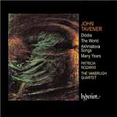 Tavener: Diodia, The World, etc / Rozario, Vanbrugh Quartet