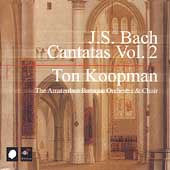Bach: Cantatas Vol 2 / Ton Koopman, Amsterdam Baroque