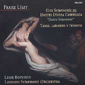 Liszt: Dante Symphony, etc / Leon Botstein, London SO, et al