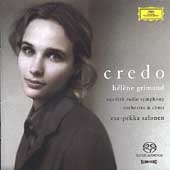 Credo / Grimaud, Salonen, Swedish Radio SO