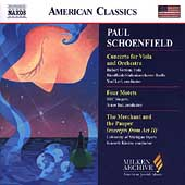American Classics - Schoenfield: Viola Concerto, etc