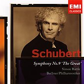 Schubert: Symphony no 9 / Simon Rattle, Berlin Philharmonic
