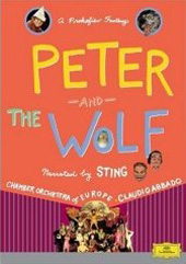 Prokofiev: Peter and the Wolf / Sting, Abbado/Chamber Orch. Of Europe [DVD]
