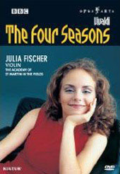 Vivaldi: Four Seasons / Julia Fischer, Academy of St. Martin in the Fields [DVD]
