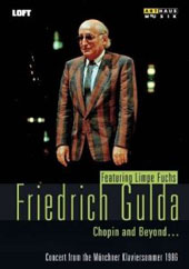 Chopin and Beyond - Friedrich Gulda plays Chopin in concert from the Munchner Klaviersommer 1986 / Limpe Fuchs [DVD]