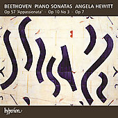 Beethoven: Piano Sonatas no 4, 7 & 23 / Angela Hewitt