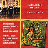 Folk Songs / Male Choir of St. Petersburg
