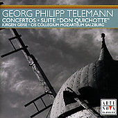 Telemann: Concertos, etc / Cis Collegium Mozarteum Salzburg