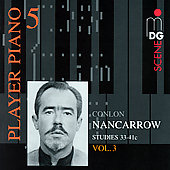 SCENE Player Piano 5 - Nancarrow: Studies Vol 3