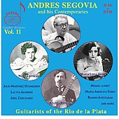 Legendary Treasures - Segovia and his Contemporaries Vol 11