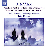 Janácek: Opera Suites Vol 1 / Breiner, Leppanen, New Zealand SO